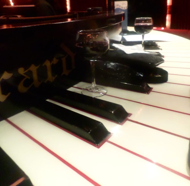 Entertainment on the cruises include Piano Bars, with live entertainment while you enjoy a cocktail of choice!