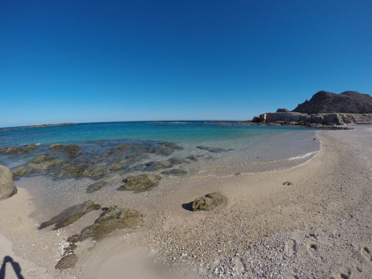Chileno Bay is a great beach for swimming and snorkeling near Cabo San Lucas.