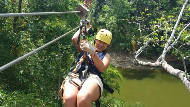 Zipline in Roatan. One of many things to do in Roatan Honduras!
