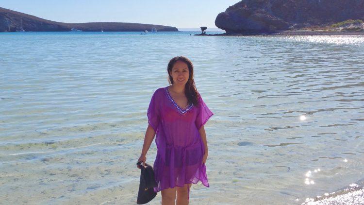 Playa Balandra. A Magical beach in La Paz Mexico.