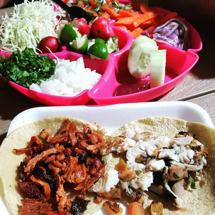 Gus's Tacos in Downtown Taco were the best taco's I had in downtown Cabo. It even comes with the veggie platter!