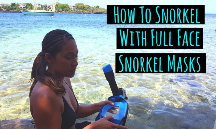 How To Snorkel With A Full Face Mask