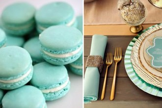 mint gold wedding ideas