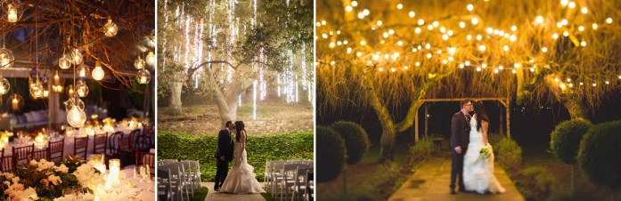 outdoor wedding lighting ideas