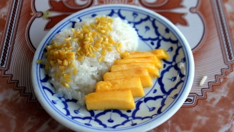 Refined Sugar Free Mango Sticky Rice (Dairy & Gluten Free)
