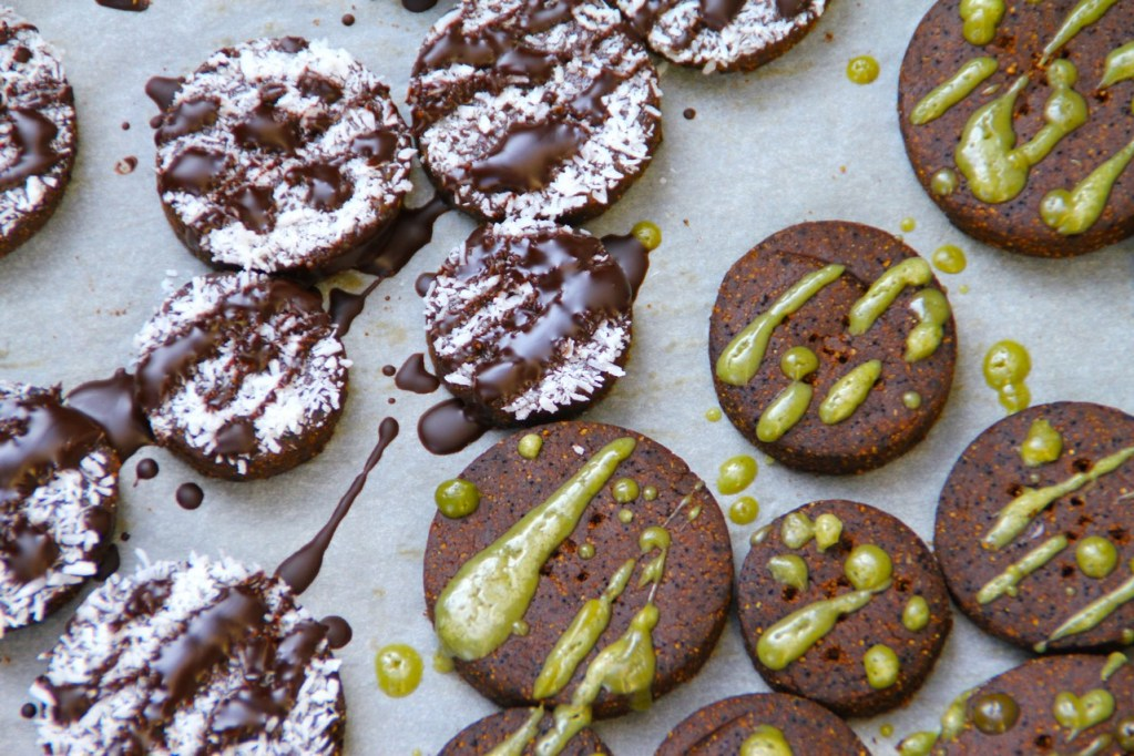 Grain & Gluten Free Chocolate Coffee Cookies