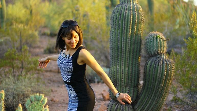 The Desert Botanical Garden in Phoenix, AZ