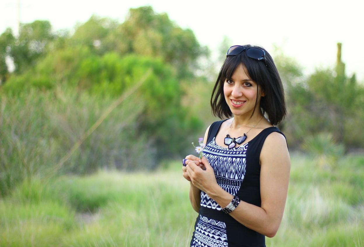 Ambra at botanic garden 3