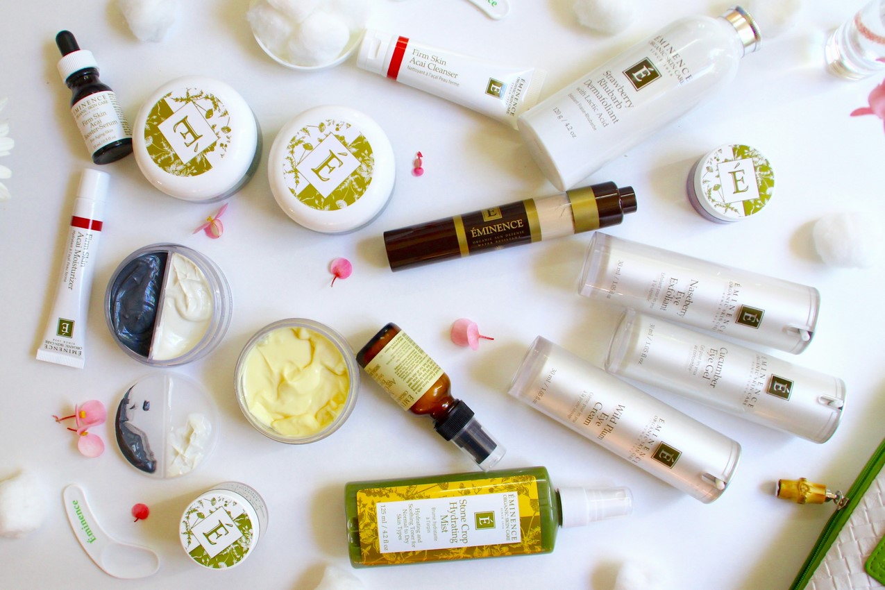 Skin Care Routine with Eminence