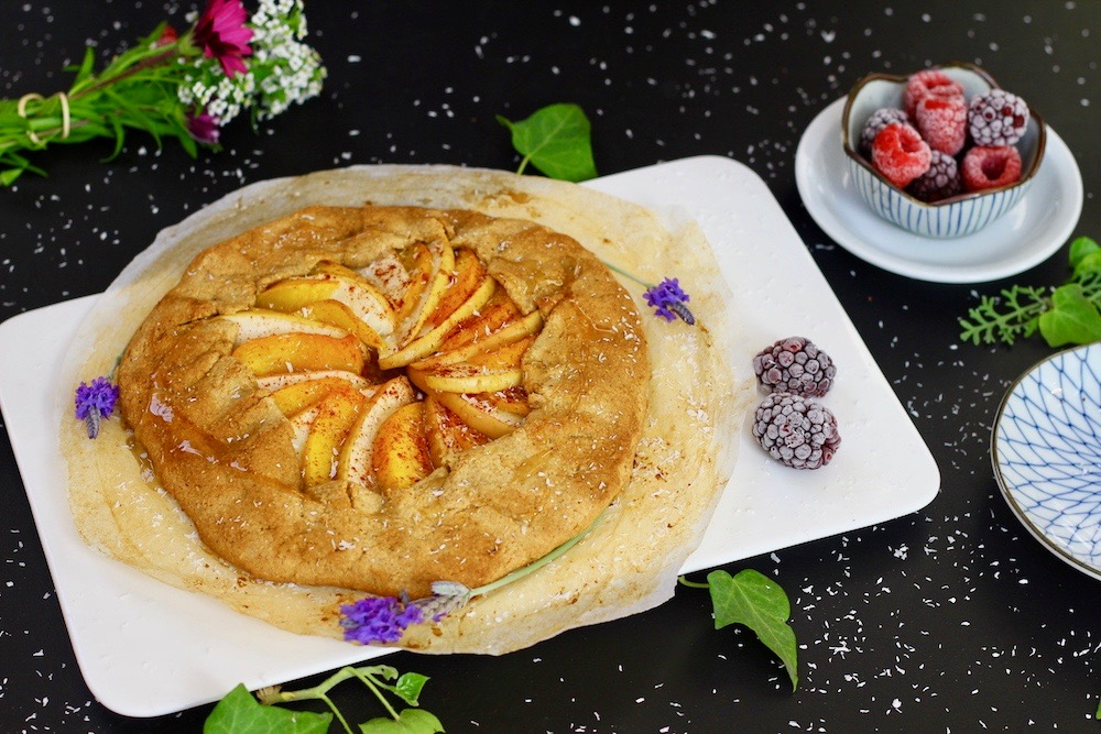 Grain Free Paleo Apple Galette