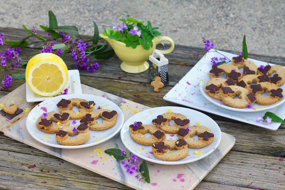 Paleo Valentines Cookies