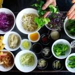 Gourmet Raw Pad Thai Salad from the Chef at Anantara Phuket