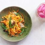 Green Mango Salad from the Chef at Park Hyatt Siem Reap (GF, Paleo, AIP)