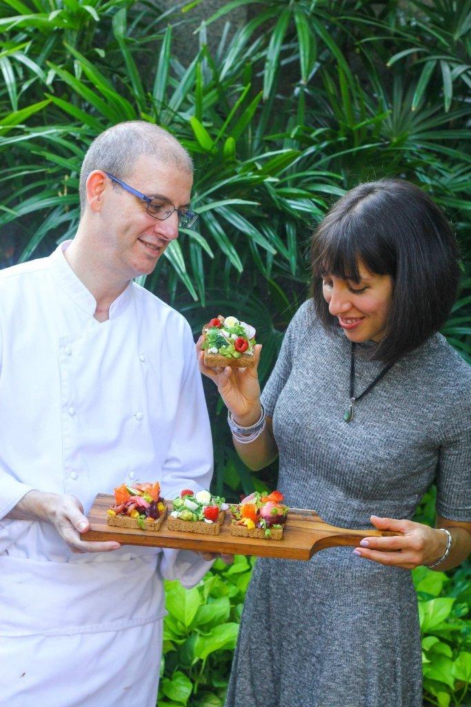 Recipe Development with the Executive Chef of Intercontinental Bangkok