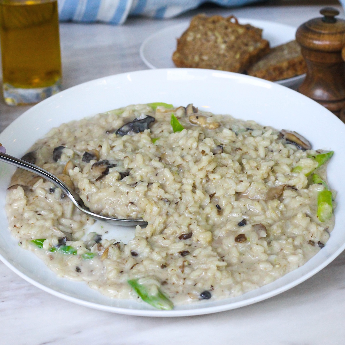 Dairy Free Risotto at Intercontinental Bangkok