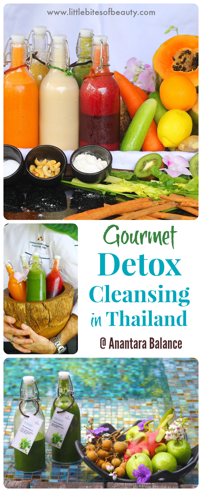 Gourmet Detox Cleansing in Thailand with Anantara Balance