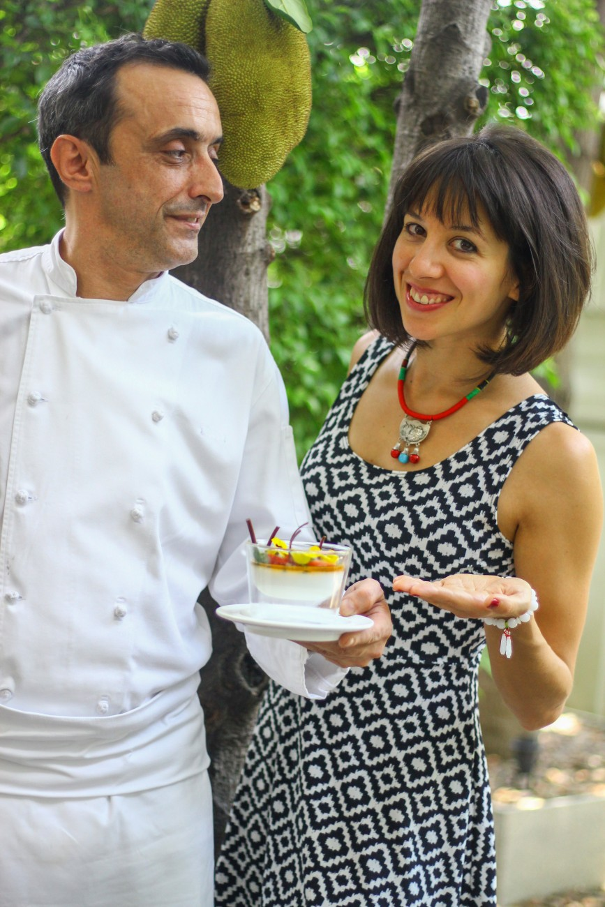 Passion Fruit Panna Cotta Ambra and Chef