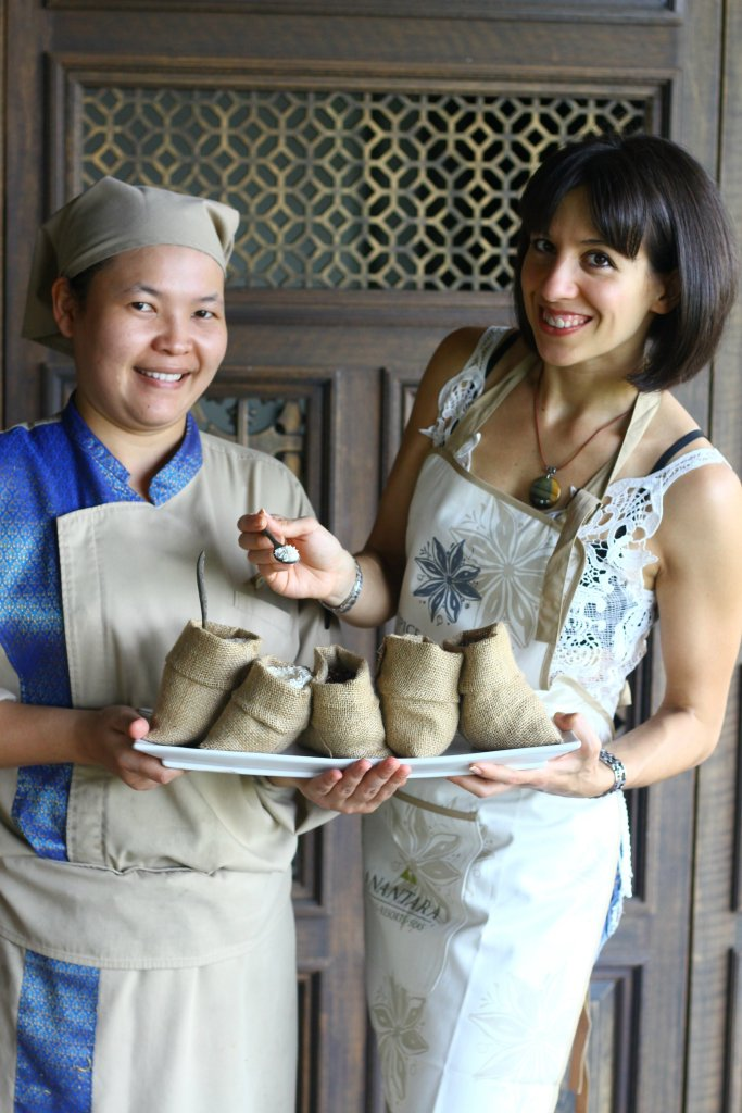 Recipe Development with the with the Chef of Anantara Layan