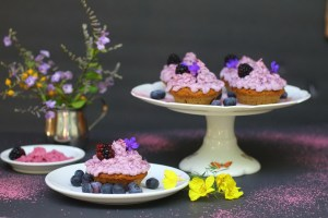 AIP Lemon Blueberry Muffins