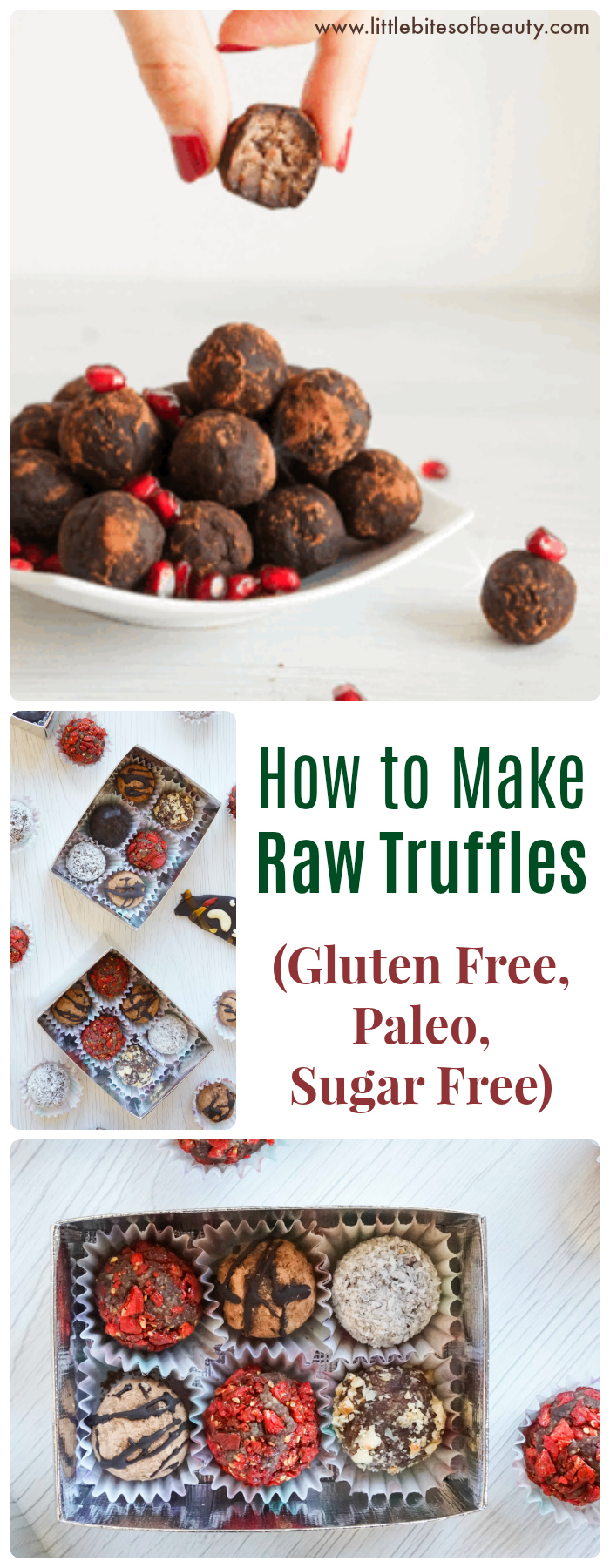 How to Make Raw Truffles (Gluten Free, Paleo, Sugar Free)
