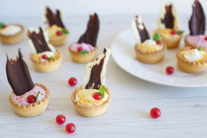 Coconut Yogurt Tartlets