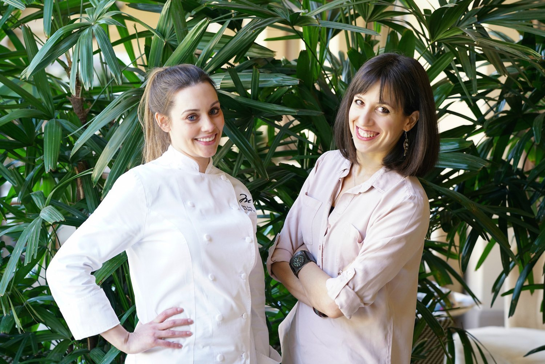 Ambra Torelli & Chef Amanda Lavin Montage Beverly Hills