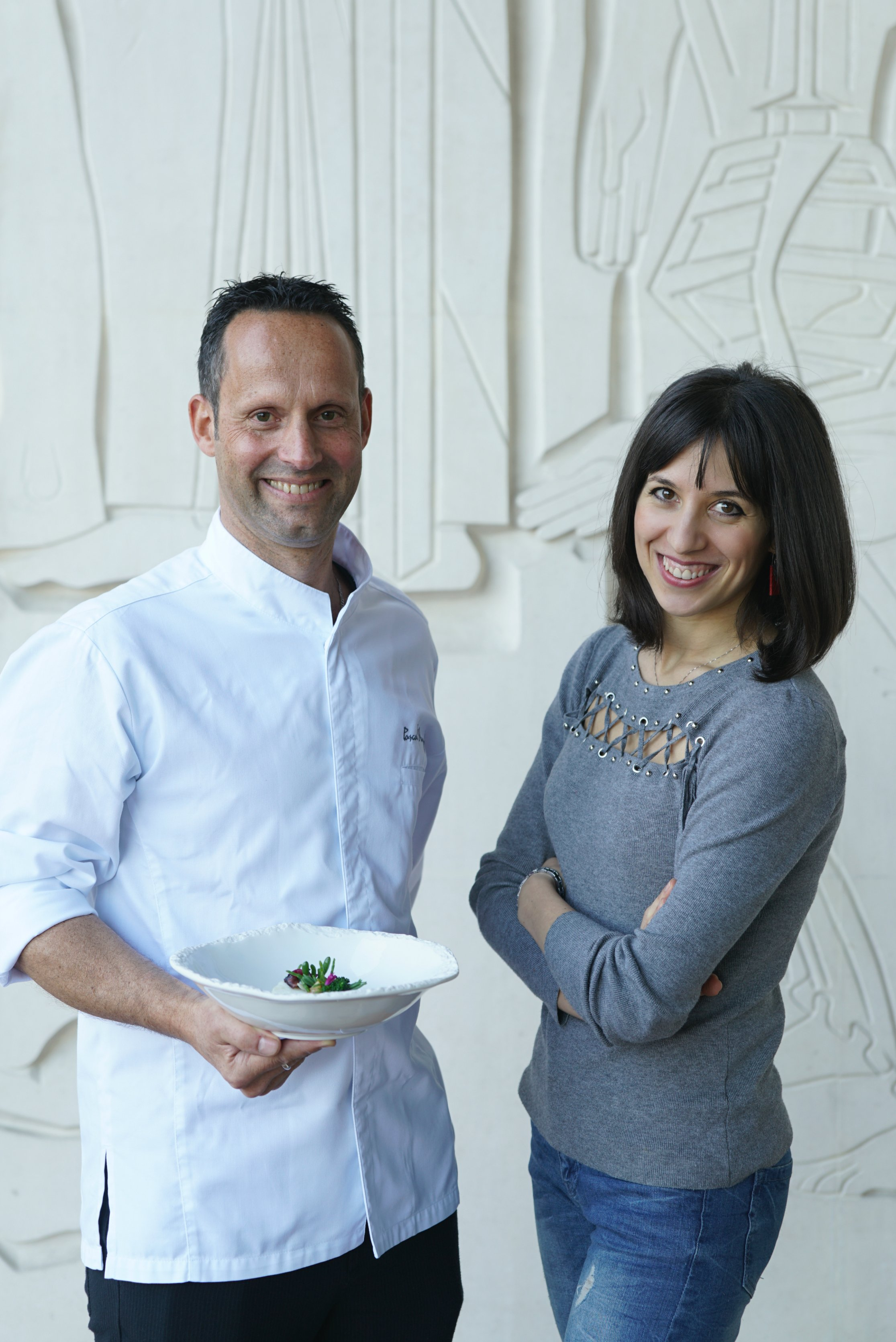 Ambra Torelli & Chef Pascal Meynard from the Four Seasons Lisbon 1