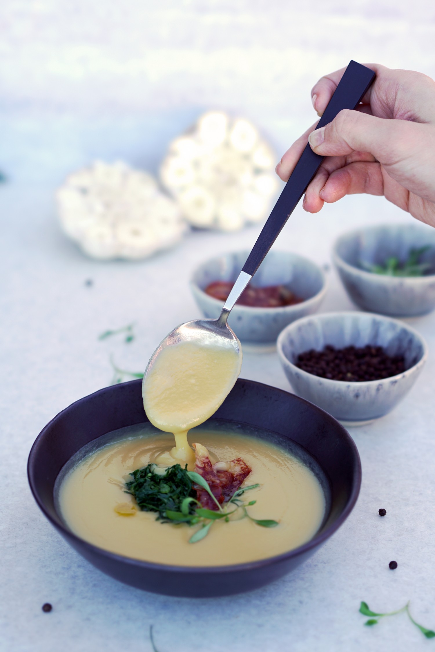 Caldo Verde. Paleo Portuguese Kale Soup from the Chef at Memmo Lisbon (GF, DF, AIP)