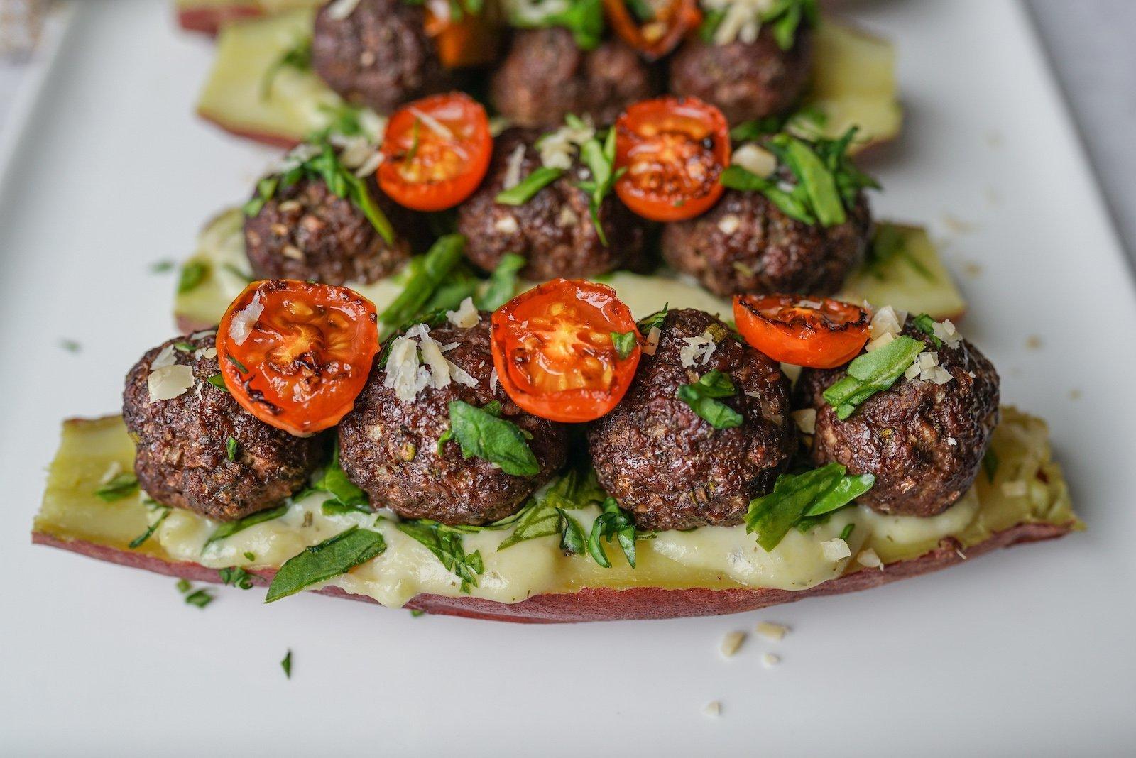 Paleo Italian Meatball Sub