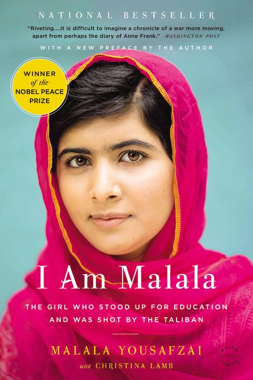 I Am Malala by Malala Yousafzai books by successful women