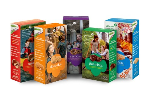 Image result for girl scout cookie boxes