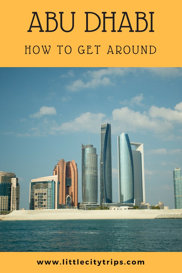 Our expert guideto how to get around Abu Dhabi with kids in tow
