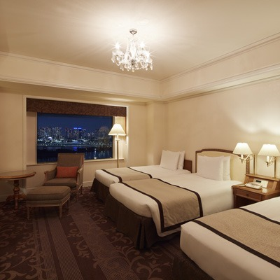 Grand Nikko Tokyo family hotel room