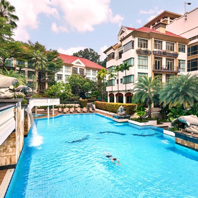 Treetops Singapore family accommodation