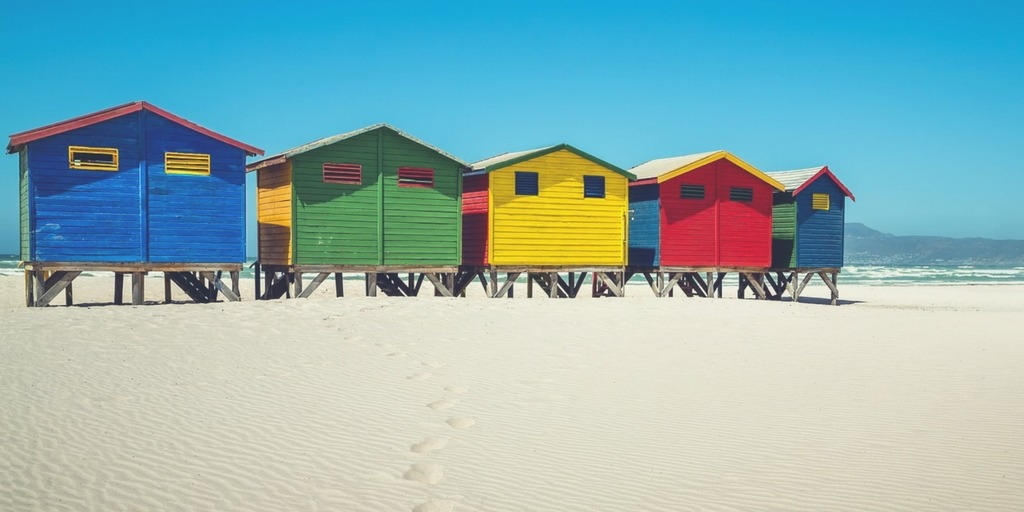 Colourful Cape Town Beach Huts   Family Guide to Cape Town