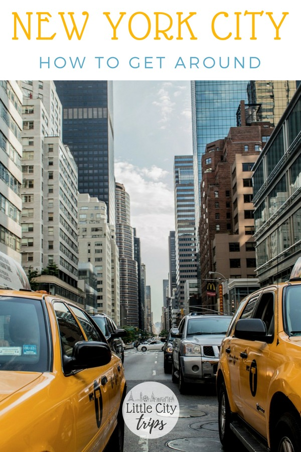 Tips on how to get around new York City with kids in tow