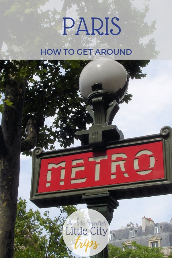 Guide to negotiating the Paris transport system with kids in tow