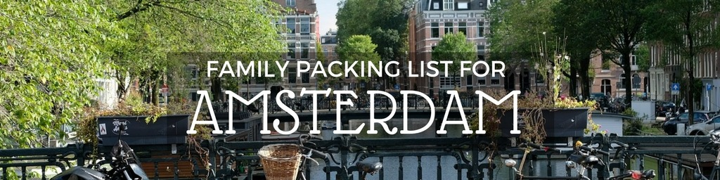 Amsterdam packing list