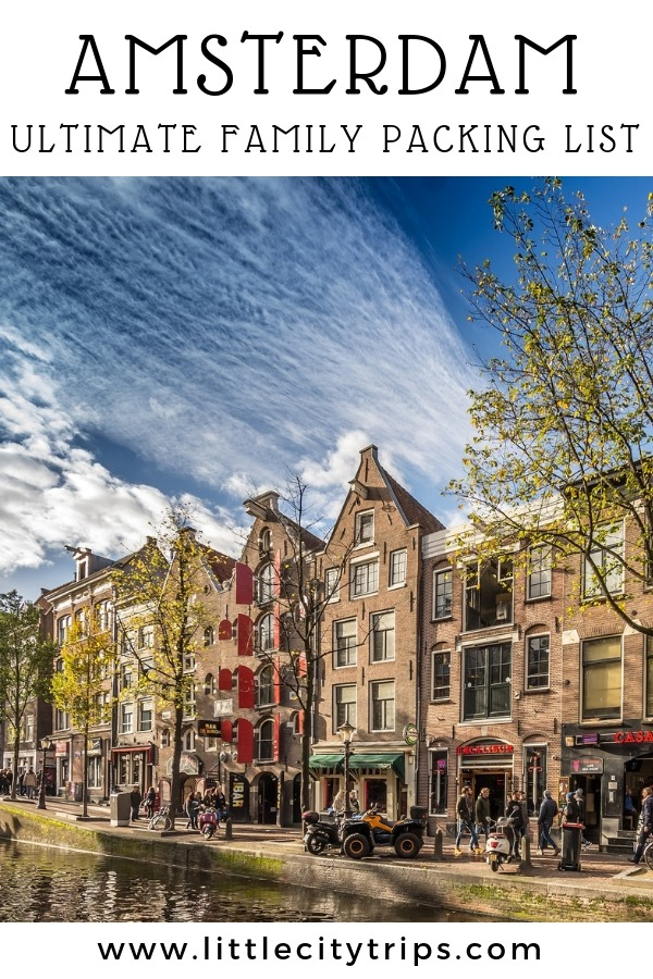 Travelling to Amsterdam? City travel experts Little City Trips talk you through all the most important items you need to pack for Amsterdam. Print off our Amsterdam packing list for your next city trip.