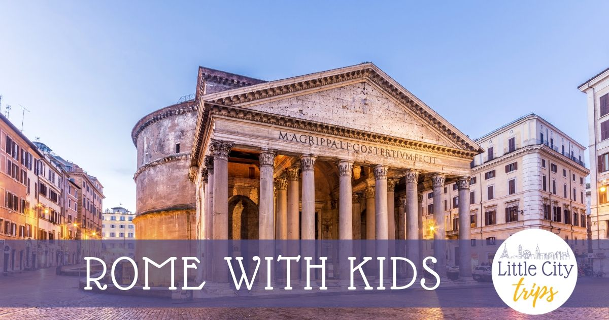 The Pnatheon Rome with Kids Podcast