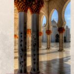 3 Day Abu Dhabi Itinerary - beautiful interior of the Grand Mosque