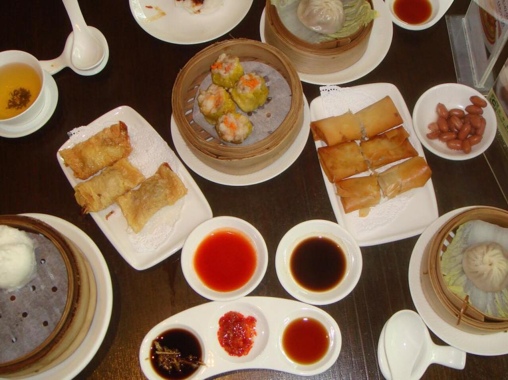 Dim Sum at Maxim's City Hall for lunch