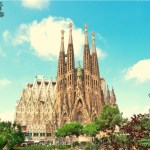 Barcelona Best Time to Visit with image of Sagrada Familia