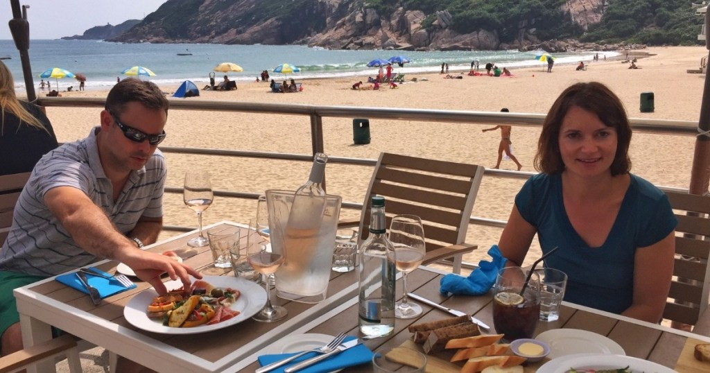 Head to Shek O for lunch at Cococabana