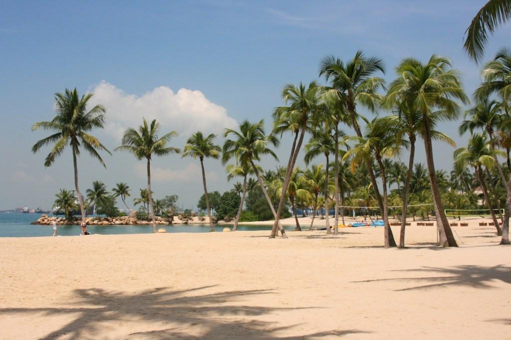 Sentosa Beach