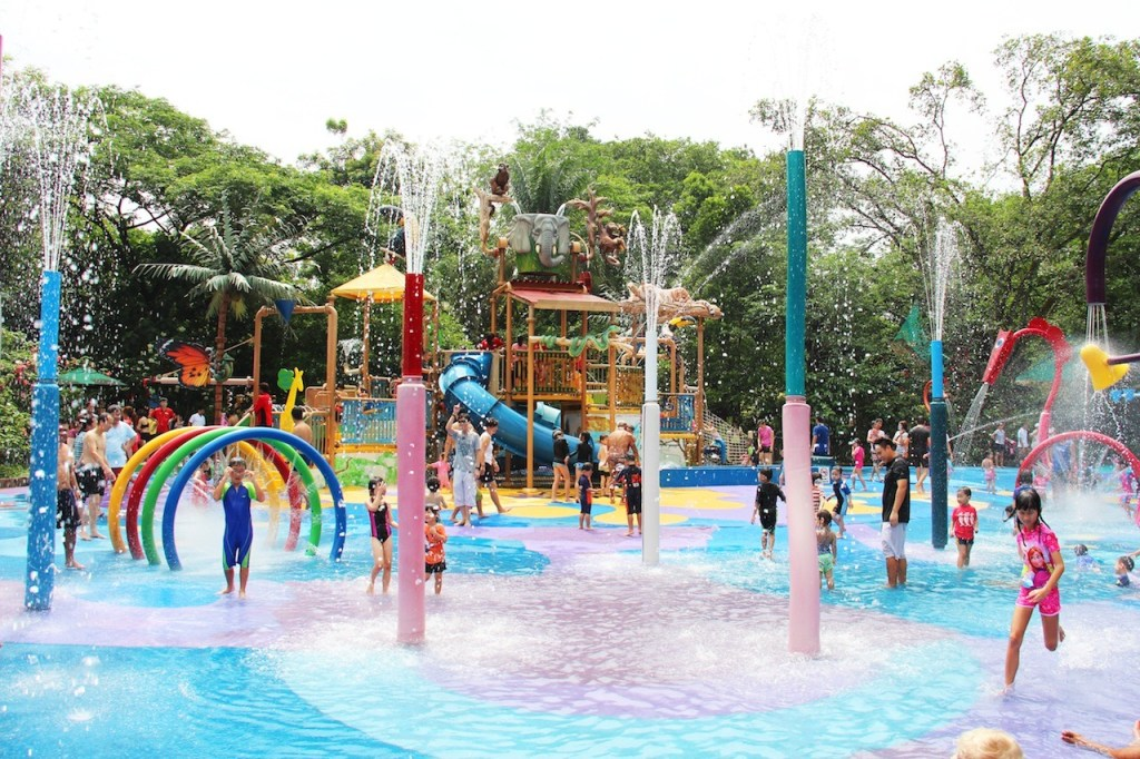 Singapore Zoo Water Play Area