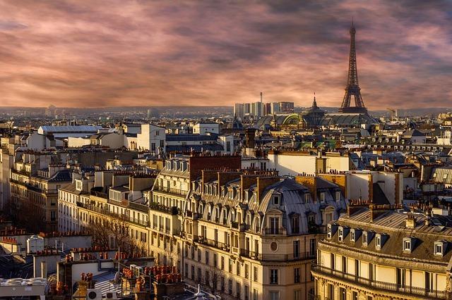 best cities to visit in winter Paris