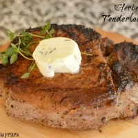 Herbed Butter Tenderloin Steak