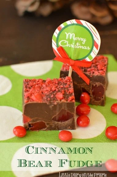 Microwave Cinnamon Bear Fudge is highly addictive! Consider yourself warned! Little Dairy on the Prairie