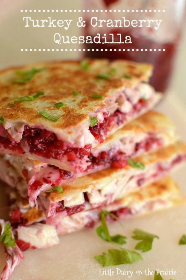 Leftover turkey and cranberry sauce have never looked so gorgeous or tasted so delicious! Your family will be begging for more of these reinvented holiday leftovers!